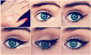 eye liner trait parfait