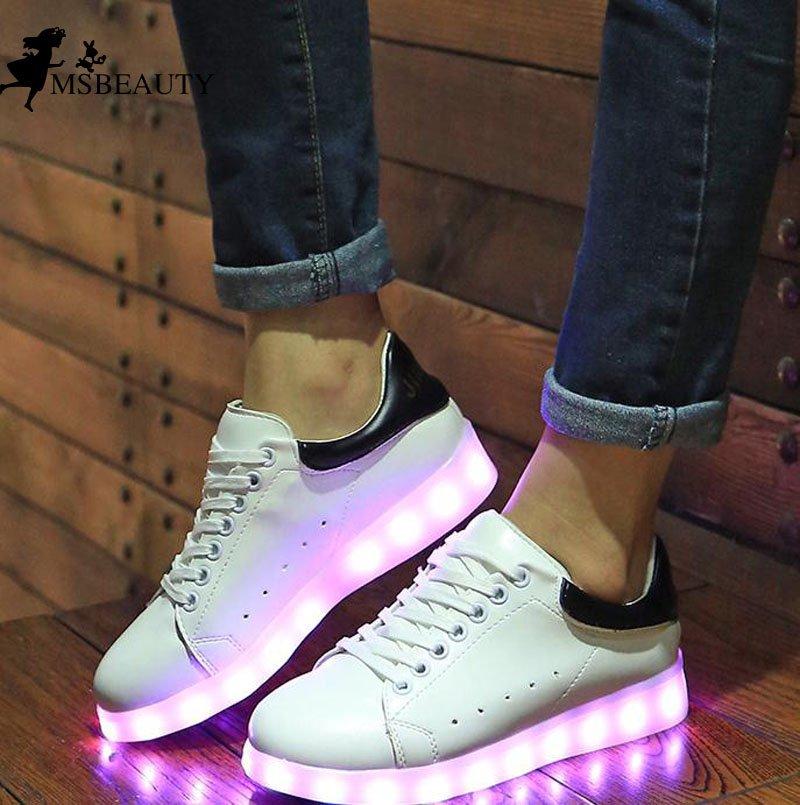 a4088a26366 Chaussures Qui Font De La Lumière